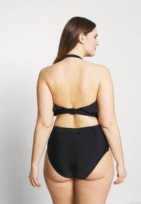 Simply Be - MIX AND MATCH HIGH WAIST BOTTOM - Bikinibroekje - black - 2