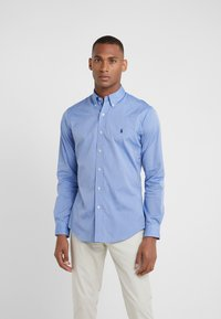 Polo Ralph Lauren - NATURAL SLIM FIT - Hemd - blue end on end - 0