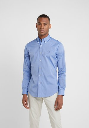 NATURAL SLIM FIT - Hemd - blue end on end