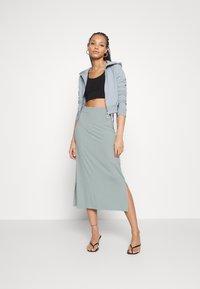 Even&Odd - BASIC - Maxi skirt - Maxi sukně - abyss - 1