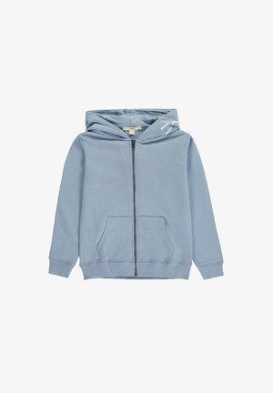 Zip-up hoodie - grey blue