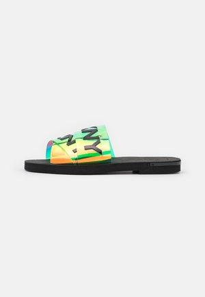 LOGO - Sandalias planas - multicolor