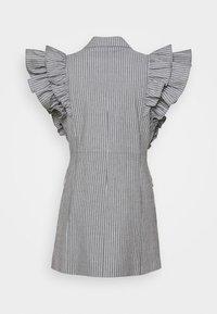 Custommade - KOBANE - Waistcoat - black/white - 8