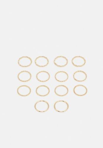 PCJENSINE 14 PACK - Pierścionek - gold-colored