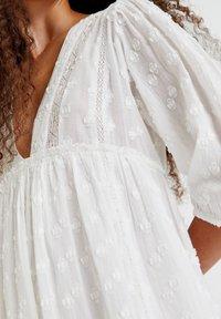 PULL&BEAR - Day dress - white - 8