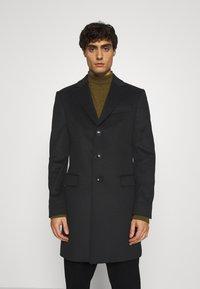 Tommy Hilfiger Tailored - BLEND COAT - Klassinen takki - black - 0