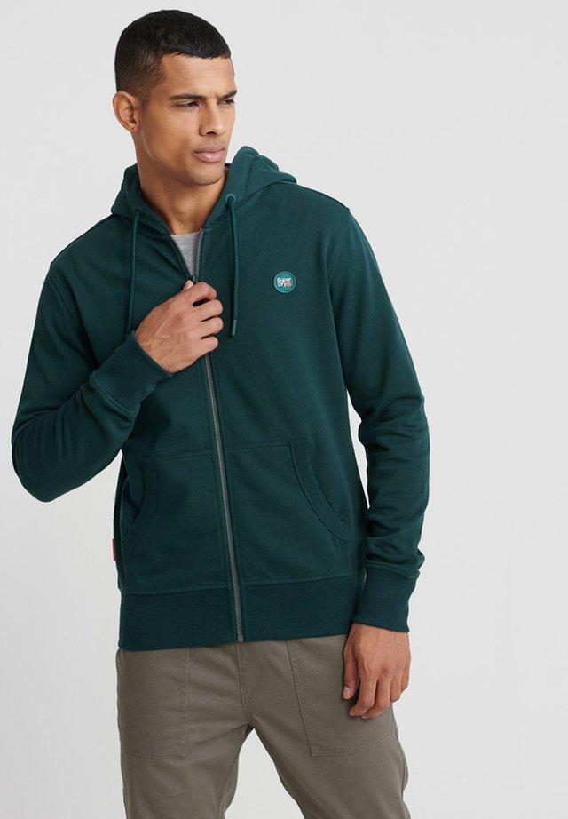 COLLECTIVE - Zip-up hoodie - green