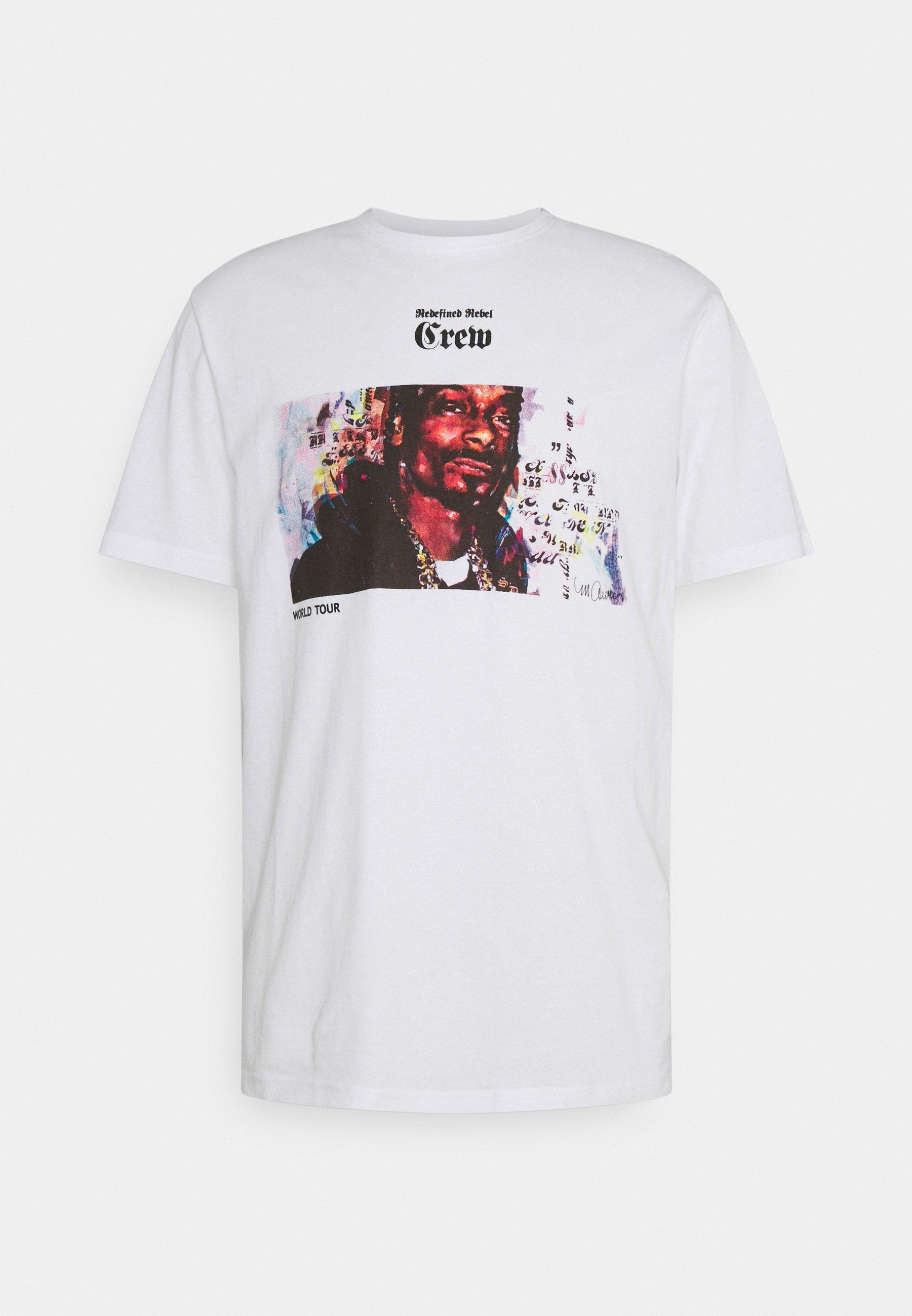 Femme TOUR TEE UNISEX - T-shirt imprimé