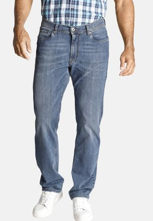 TUMAN - Relaxed fit jeans - light blue