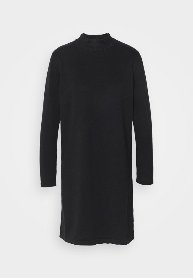 DRESS - Strikkjoler - black