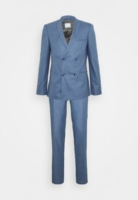Viggo - GROBY DOUBLE BREASTED SUIT - Costume - light blue - 0