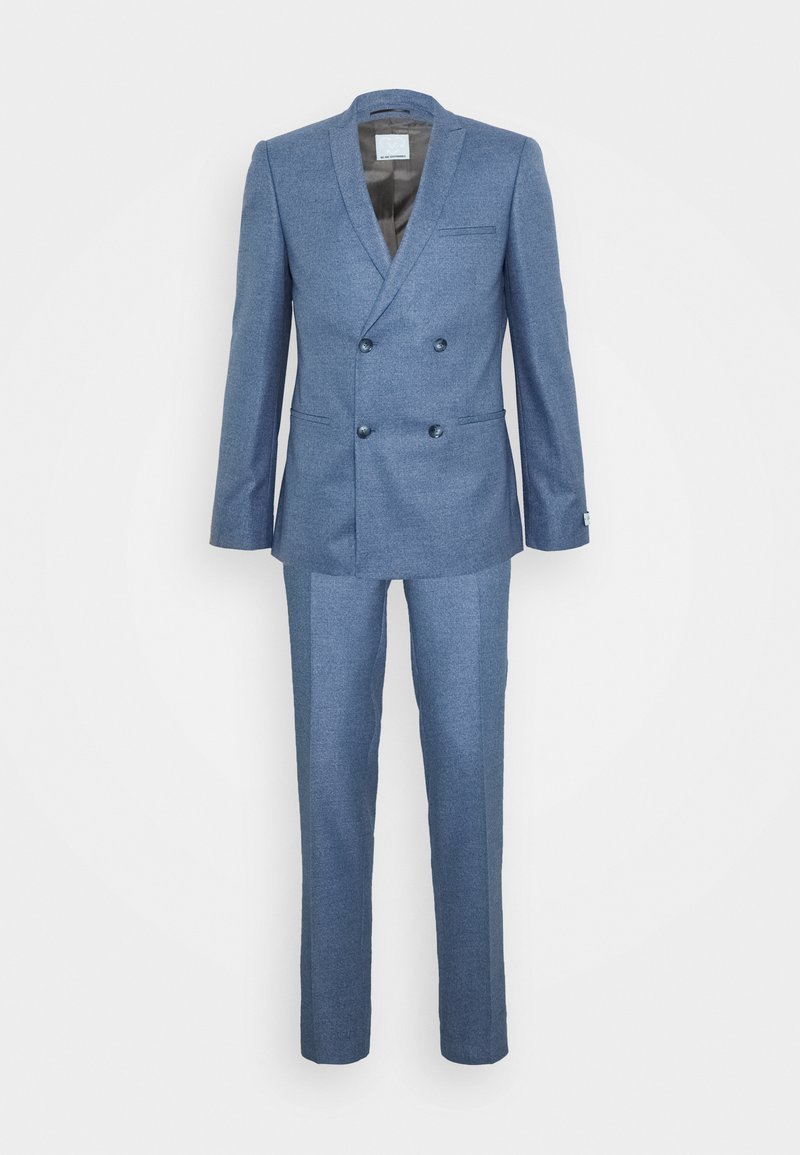 Viggo - GROBY DOUBLE BREASTED SUIT - Costume - light blue