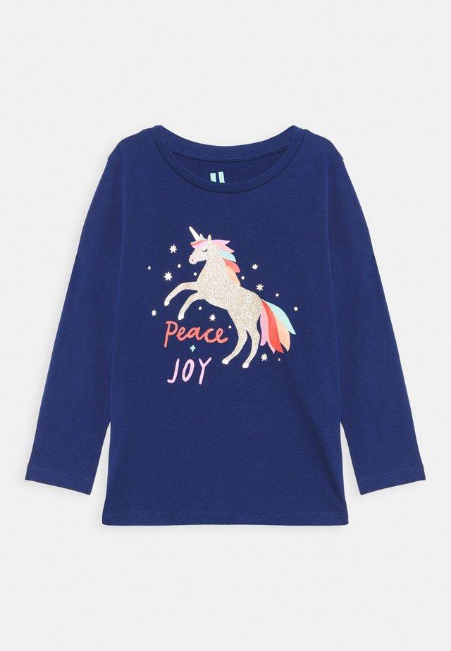 PENELOPE LONG SLEEVE  - Langærmede T-shirts - indigo