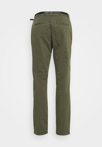 Vero Moda - VMFLASH BELT COLOR PANT - Trousers - ivy green - 6