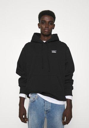 032C X ZALANDO HOODIE UNISEX - Bluza z kapturem - black