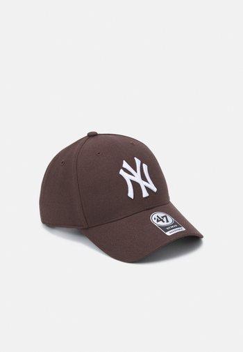 NEW YORK YANKEES SNAPBACK UNISEX - Cap - brown