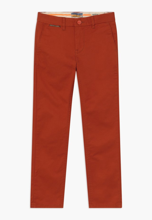 SLIM FIT - Chino - lumber red