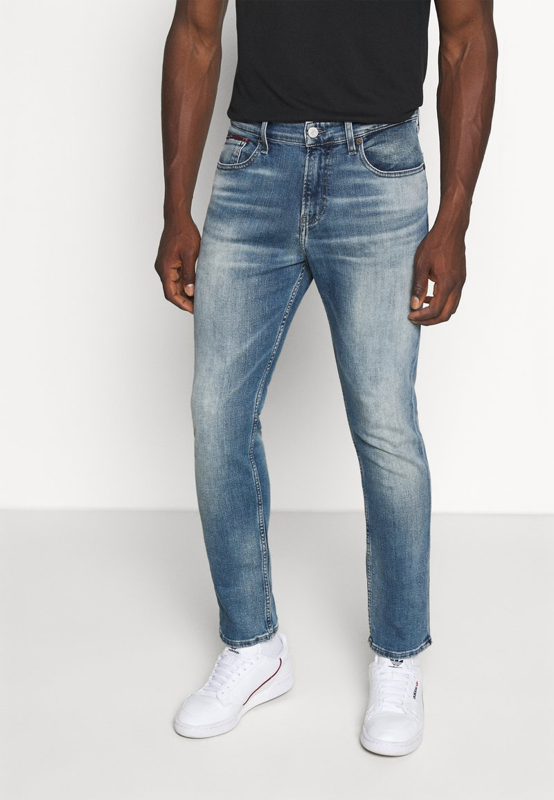 Tommy Jeans - RYAN RELAXED STRAIGHT - Jeans straight leg - portobello mid blue comfort