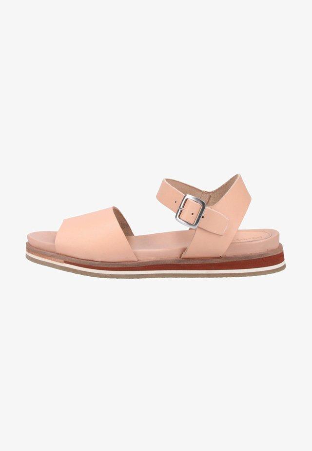 Sandały - rose/nude