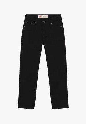 502 REGULAR TAPER UNISEX - Džíny Straight Fit - black