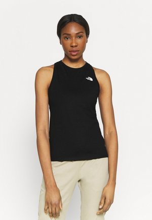 LEFT CHEST LOGO TANK - Topper - black