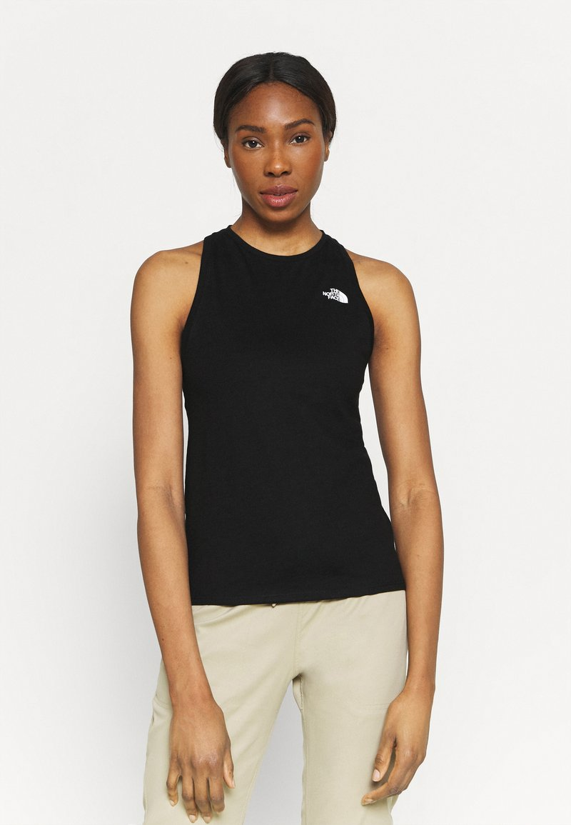 The North Face - LEFT CHEST LOGO TANK - Top - black