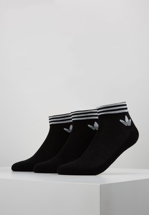 3 PACK - Calcetines - black/white