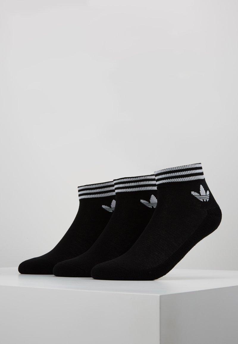 adidas Originals - 3 PACK - Calcetines - black/white