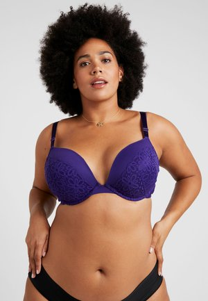 JOHANNA BRA - Push-up bra - violet