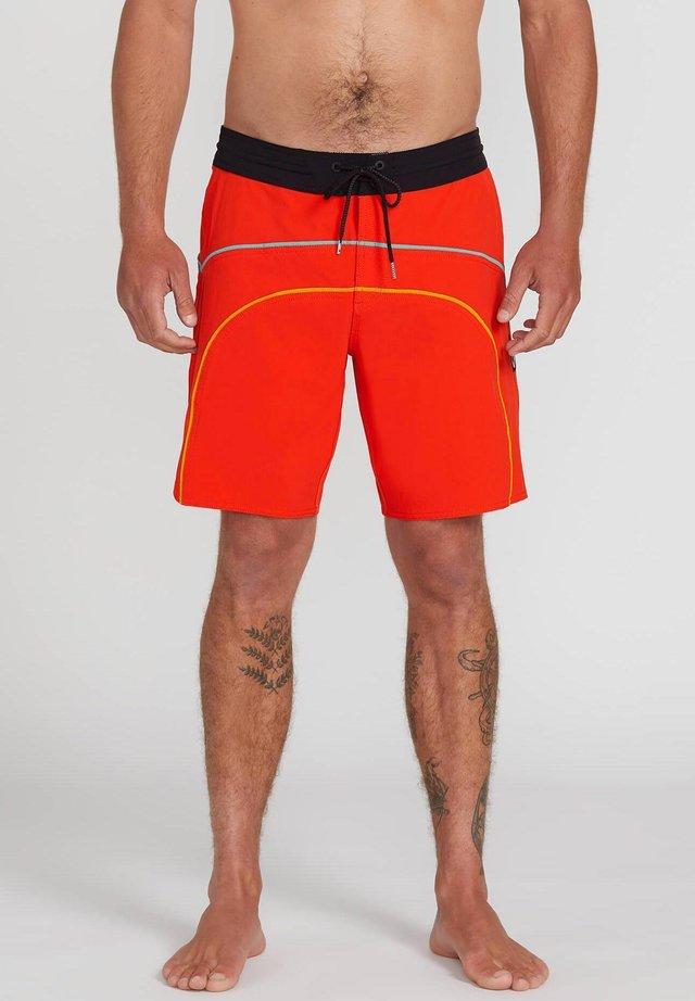 RAINBOW BRDG STNY 19 - Shorts da mare - pepper_red
