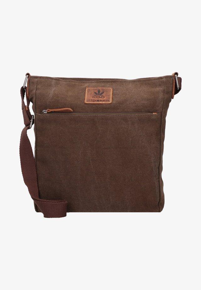 VINTAGE  - Shopping bag - oliv-green