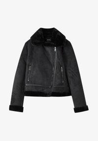 PULL&BEAR - Light jacket - black - 5