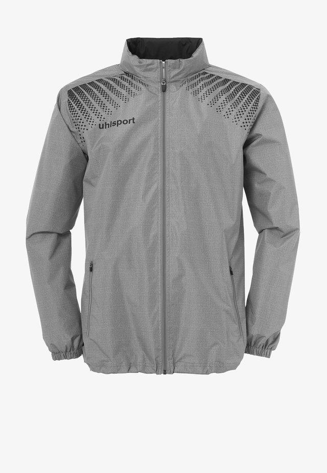 Waterproof jacket - dunkelgrau / schwarz