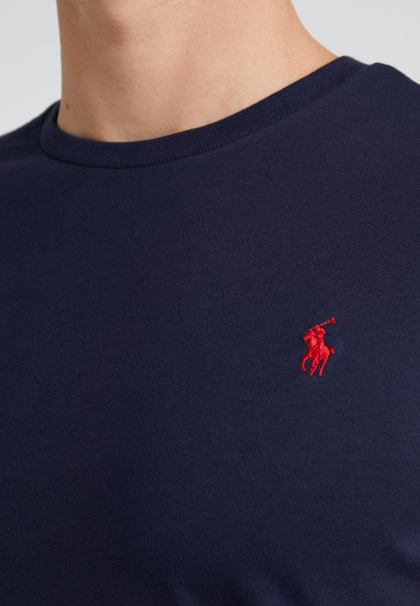 Polo Ralph Lauren T-shirt basic - dark blue/granatowy Odzież Męska ELHA