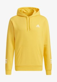 adidas Performance - ESSENTIALS TRAINING SPORTS HOODED SWEAT - Sweatshirt - actgol/white - 3
