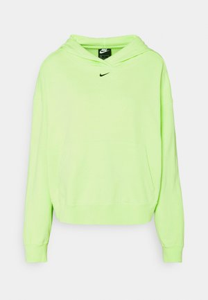 WASH HOODIE - Sweatshirt - ghost green/black