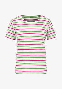 Gerry Weber - Print T-shirt - lila pink grün ringel - 0