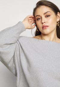 Even&Odd Curvy - SET - Neule - mottled light grey - 5