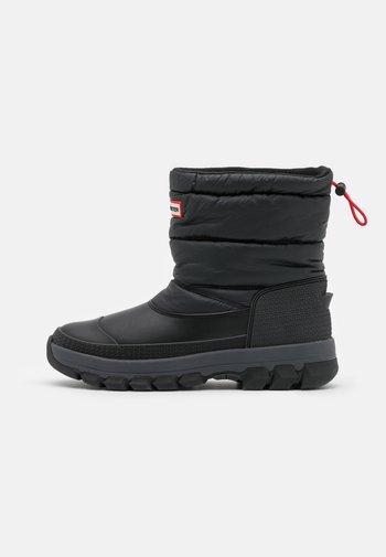 ORIGINAL INSULATED SNOW BOOT SHORT VEGAN - Winter boots - Vinterstøvler - black
