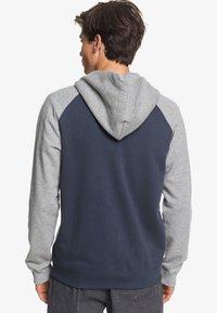 Quiksilver - EVERYDAY - Zip-up sweatshirt - blue nights - 2