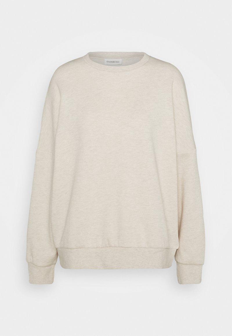 Even&Odd - OVERSIZED CREW NECK SWEATSHIRT - Sweatshirts - beige