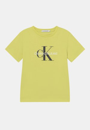 MONOGRAM LOGO UNISEX - Print T-shirt - yellow