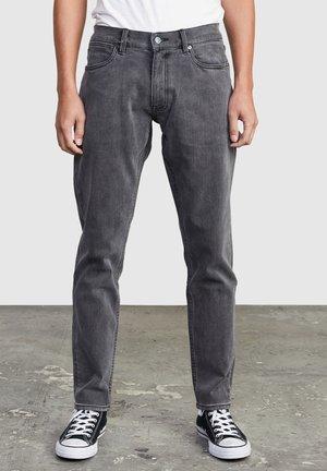 DAGGERS - Slim fit jeans - vintage charcoa