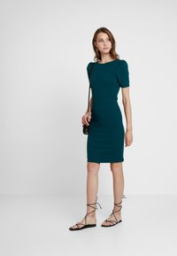 Dorothy Perkins - PUFF SLEEVE BODYCON - Etuikjoler - green - 2