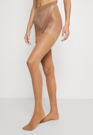 TIGHTS 40 DENIER FIRM SHAPING - Tights - tan