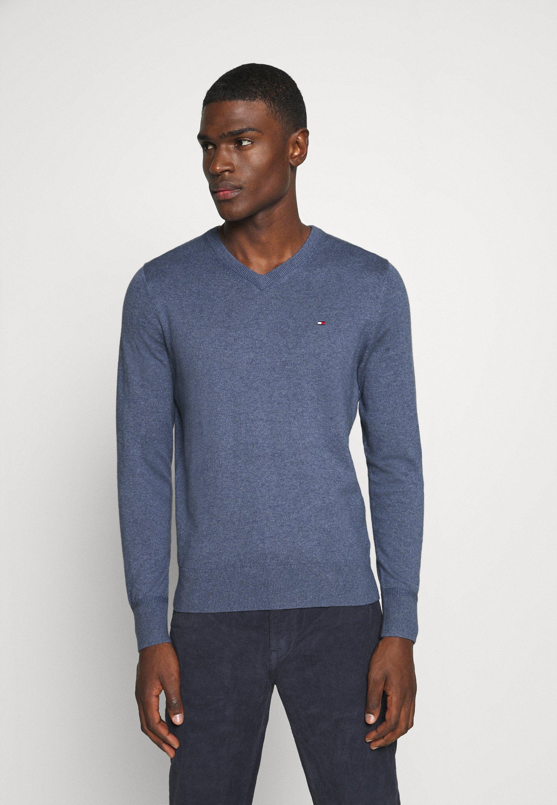Homme PIMA V NECK - Pullover