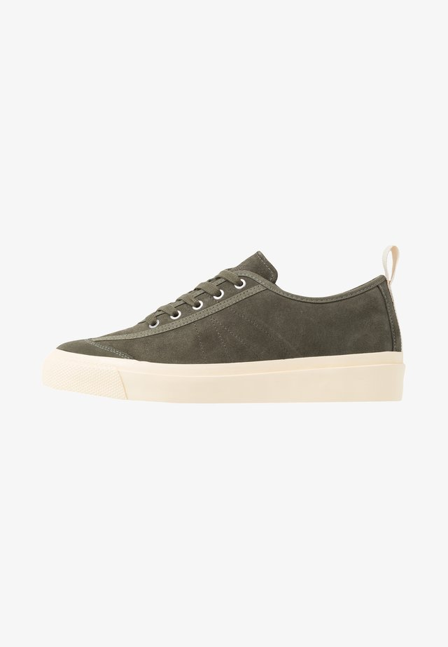 NUMBER ONE - Sneakers basse - olive