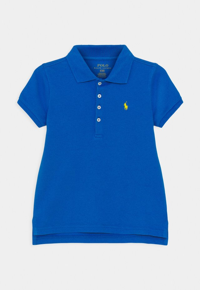 Poloshirt - colby blue/university yellow