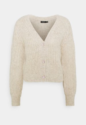 Cardigan - whisper white melange