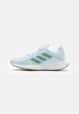 DURAMO CLASSIC LIGHTMOTION RUNNING SHOES - Zapatillas de running neutras - skytint/ashgrey/signal green
